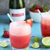 Prosecco Strawberry Margaritas