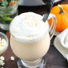Crockpot Pumpkin Spice White Hot Chocolate