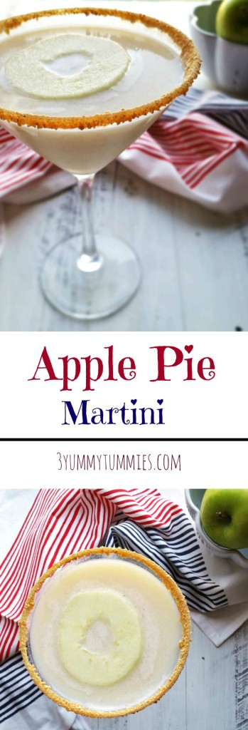 Apple Pie Martini