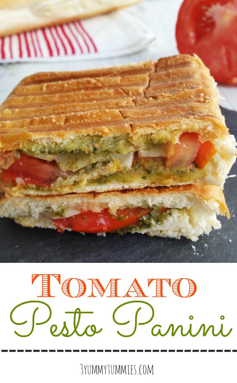 Tomato Pesto Panini