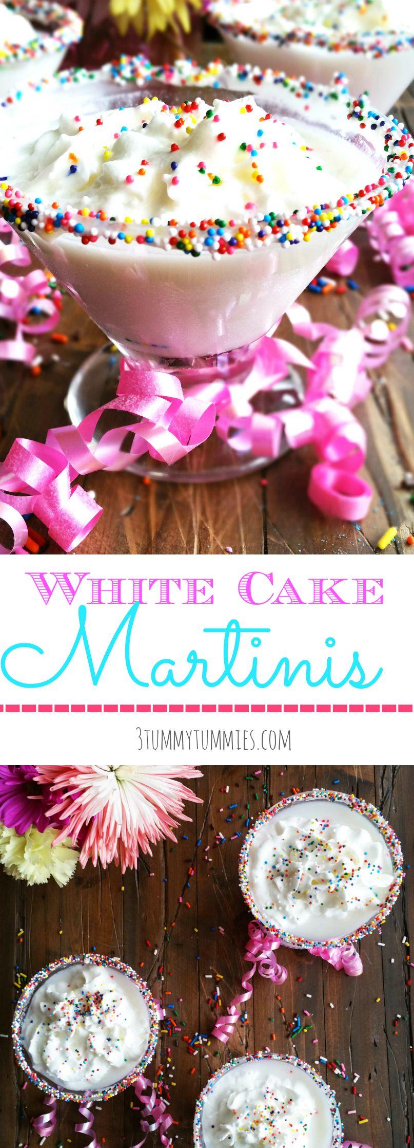 White Cake Martinis