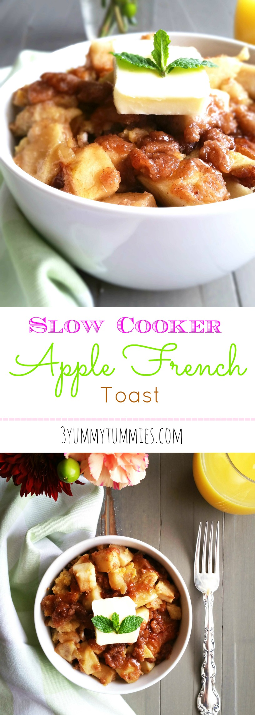 Slow Cooker Apple French Toast