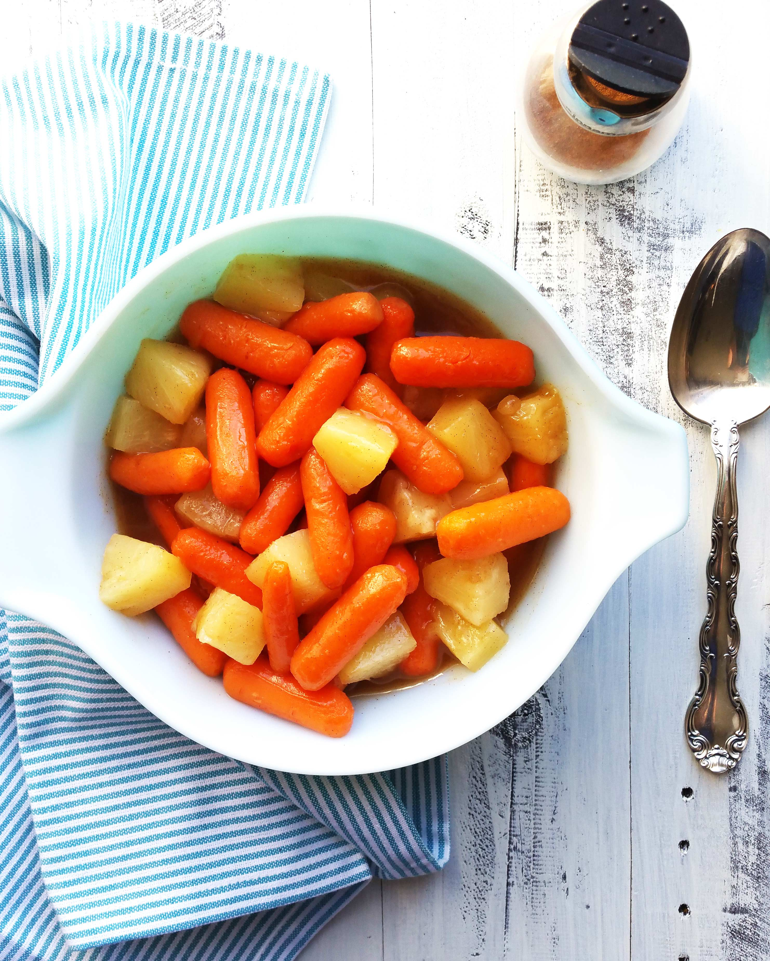 Glazed-Carrots-and-Pineapples