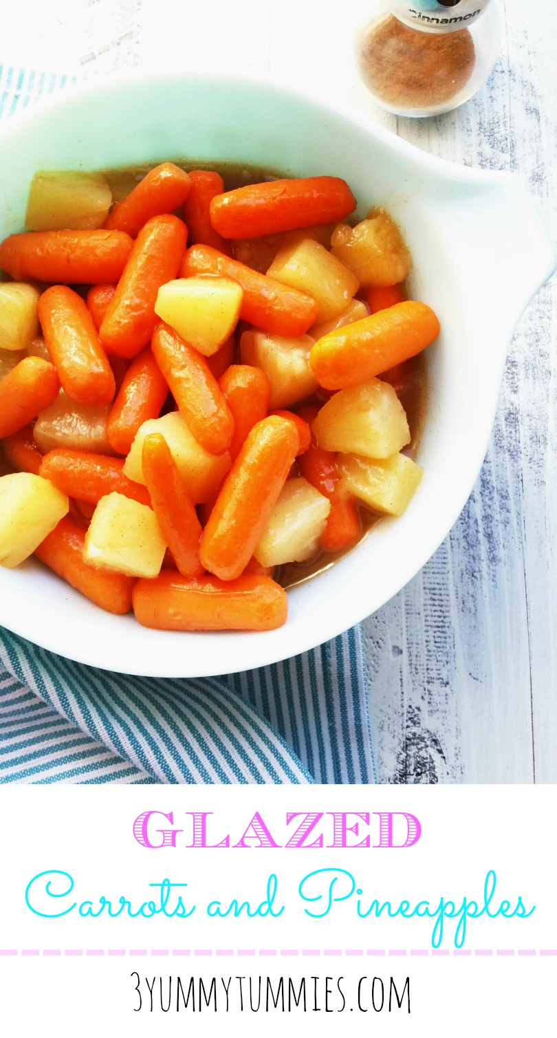 Glazed Carrots and Pineapples
