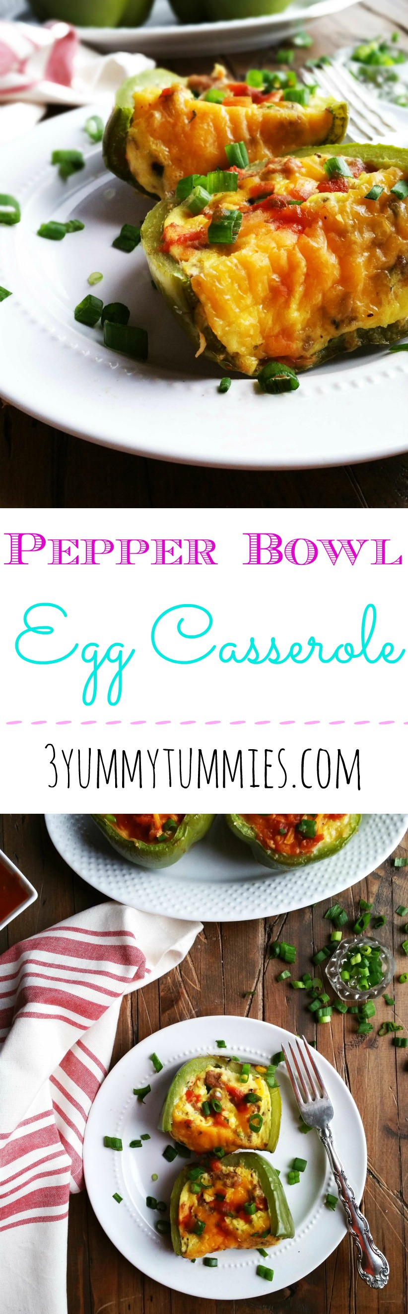 Pepper Bowl Egg Casserole