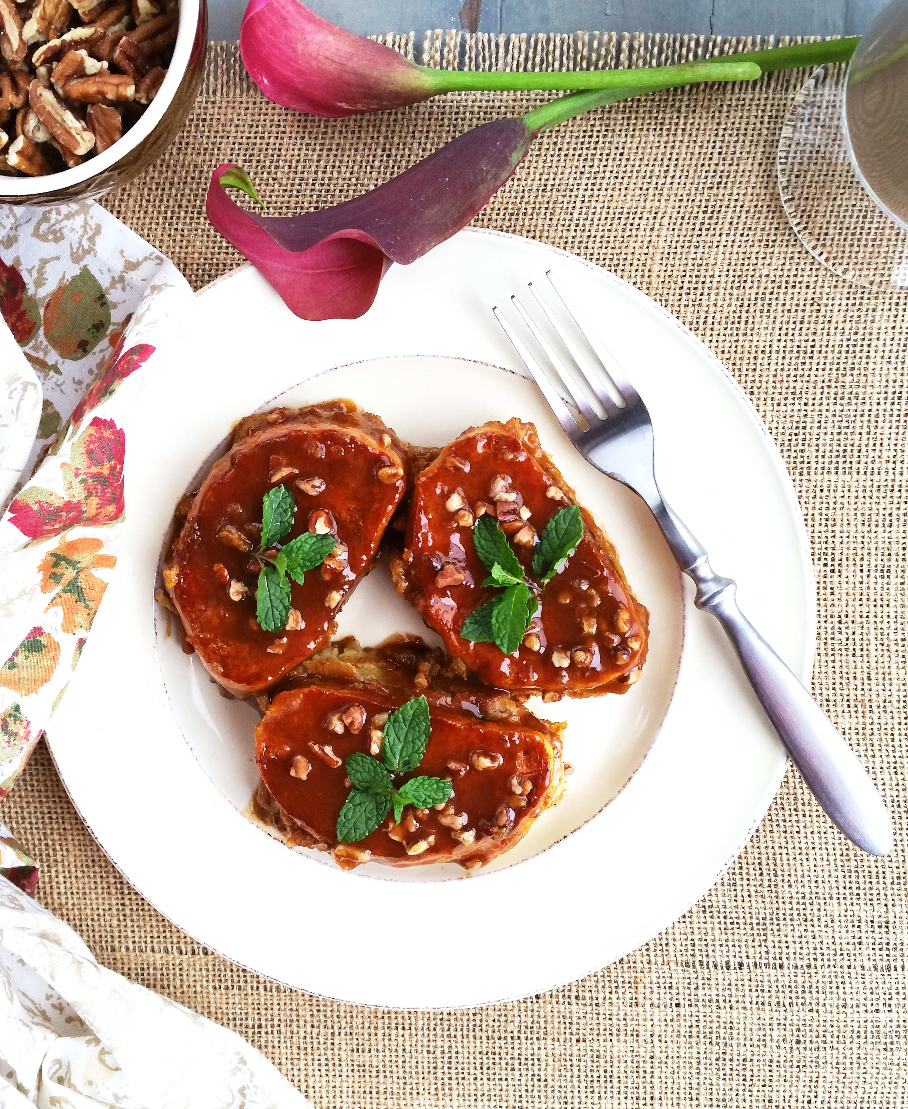 Pumpkin-French-Toast-with-Butterscotch-Syrup