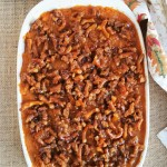 Salted Caramel Sweet Potato Casserole