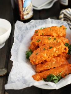 Slow Cooker Hot Wings