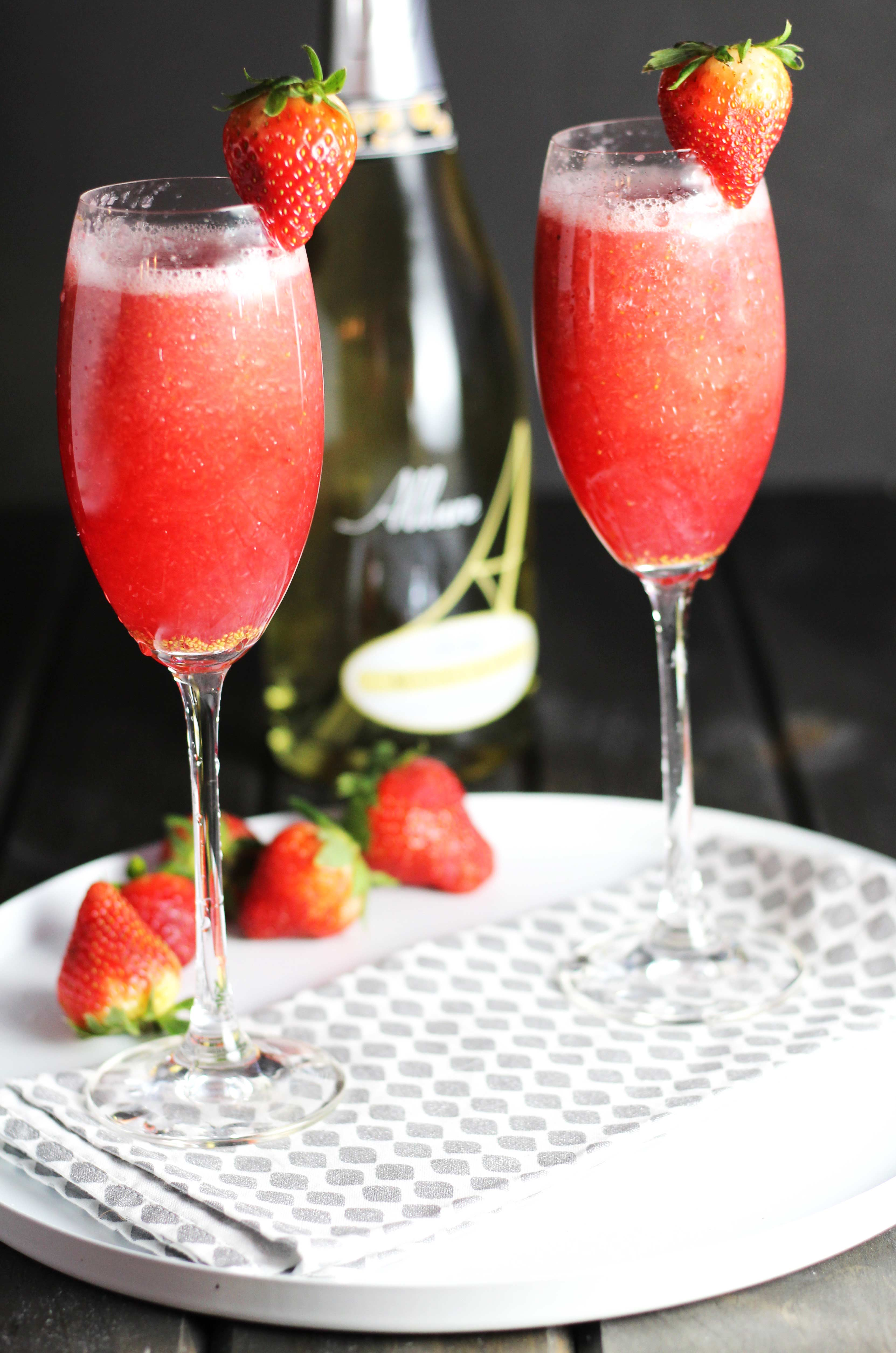 Strawberry-Bellinis