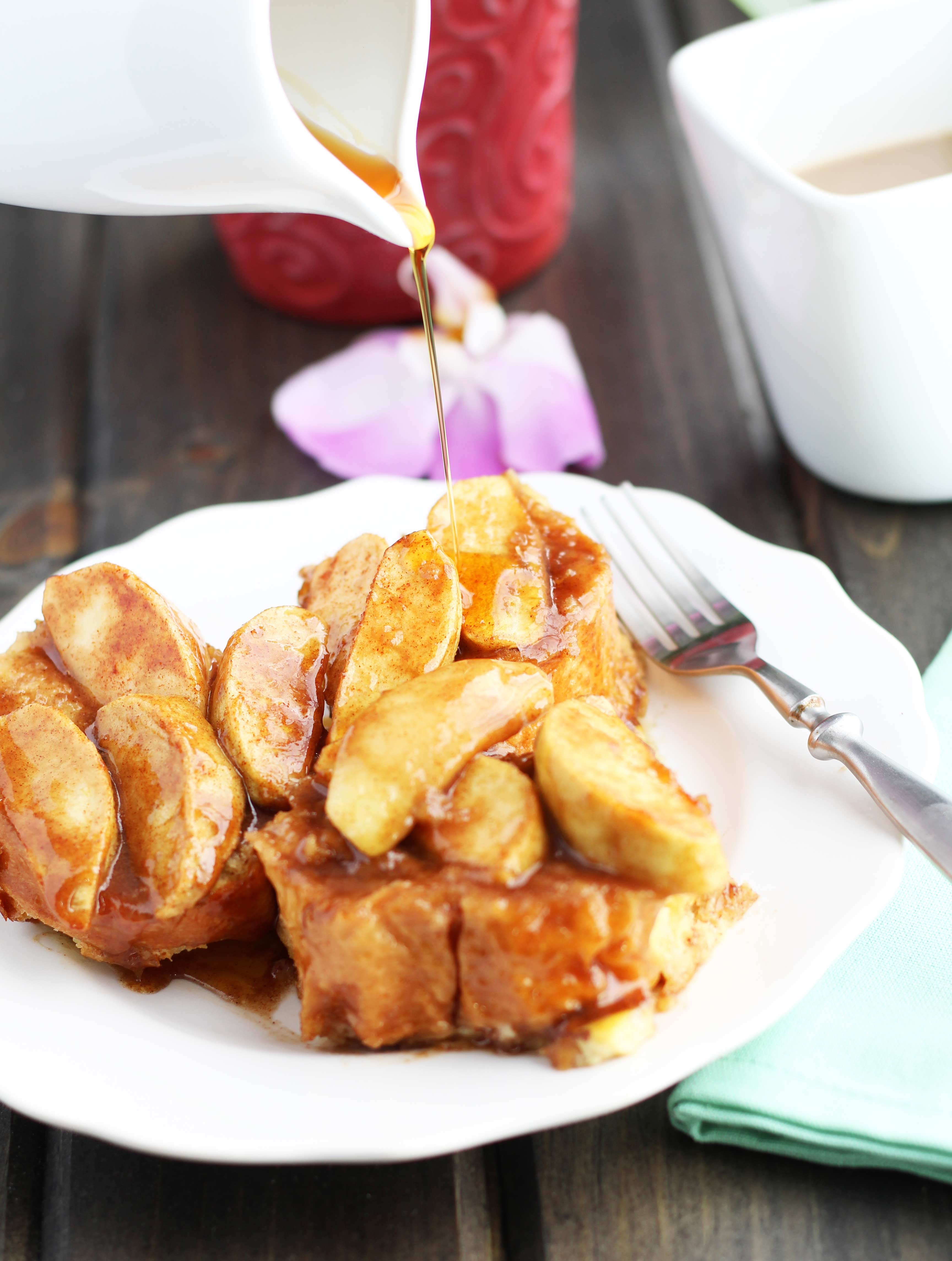 Apple-French-Toast Casserole