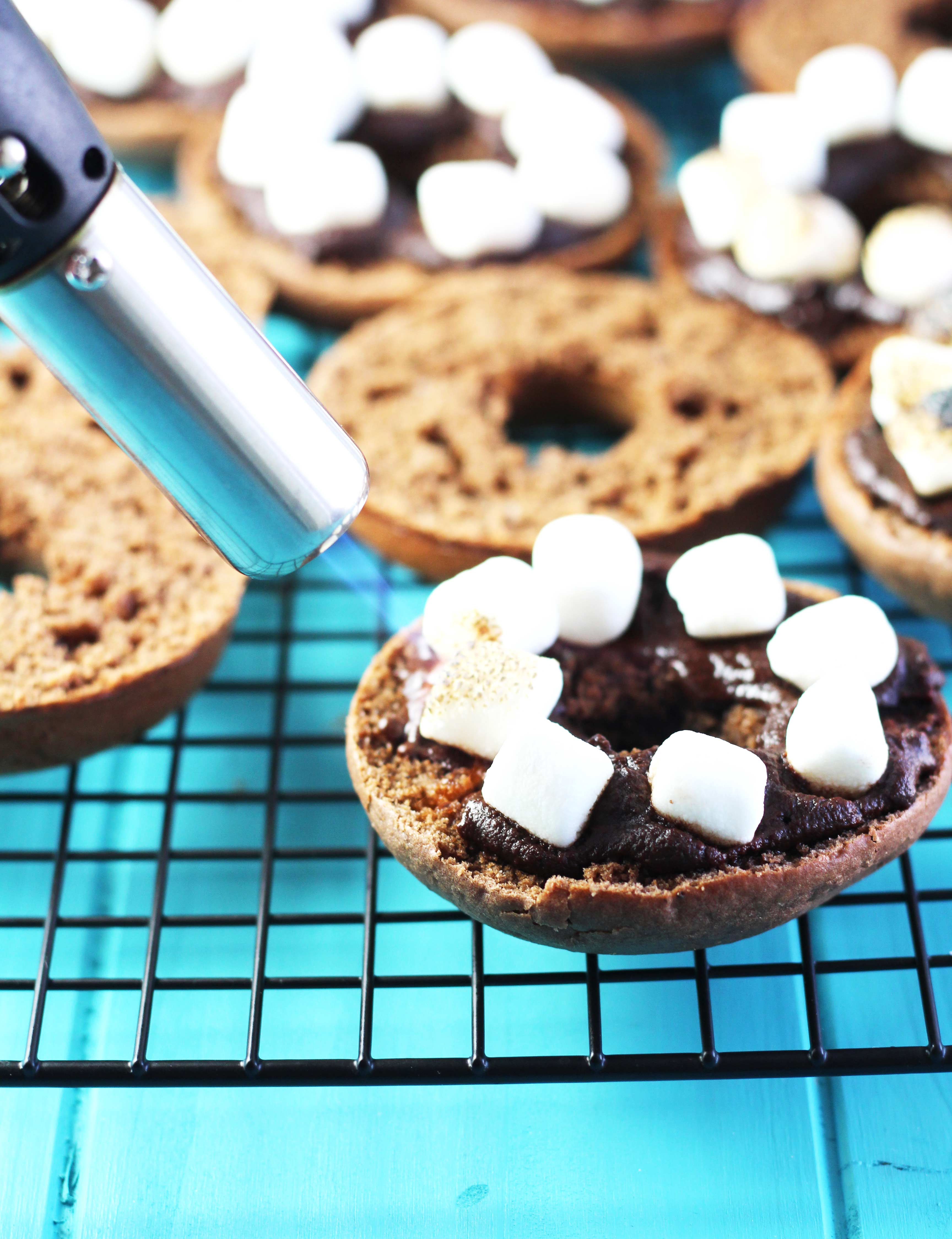 Baked-S'mores-Doughnuts