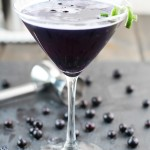 Blueberry Purple Rain Martini