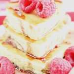 Raspberry Cream Cheese Pancakes