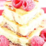 Raspberry Cream Cheese Pancakes
