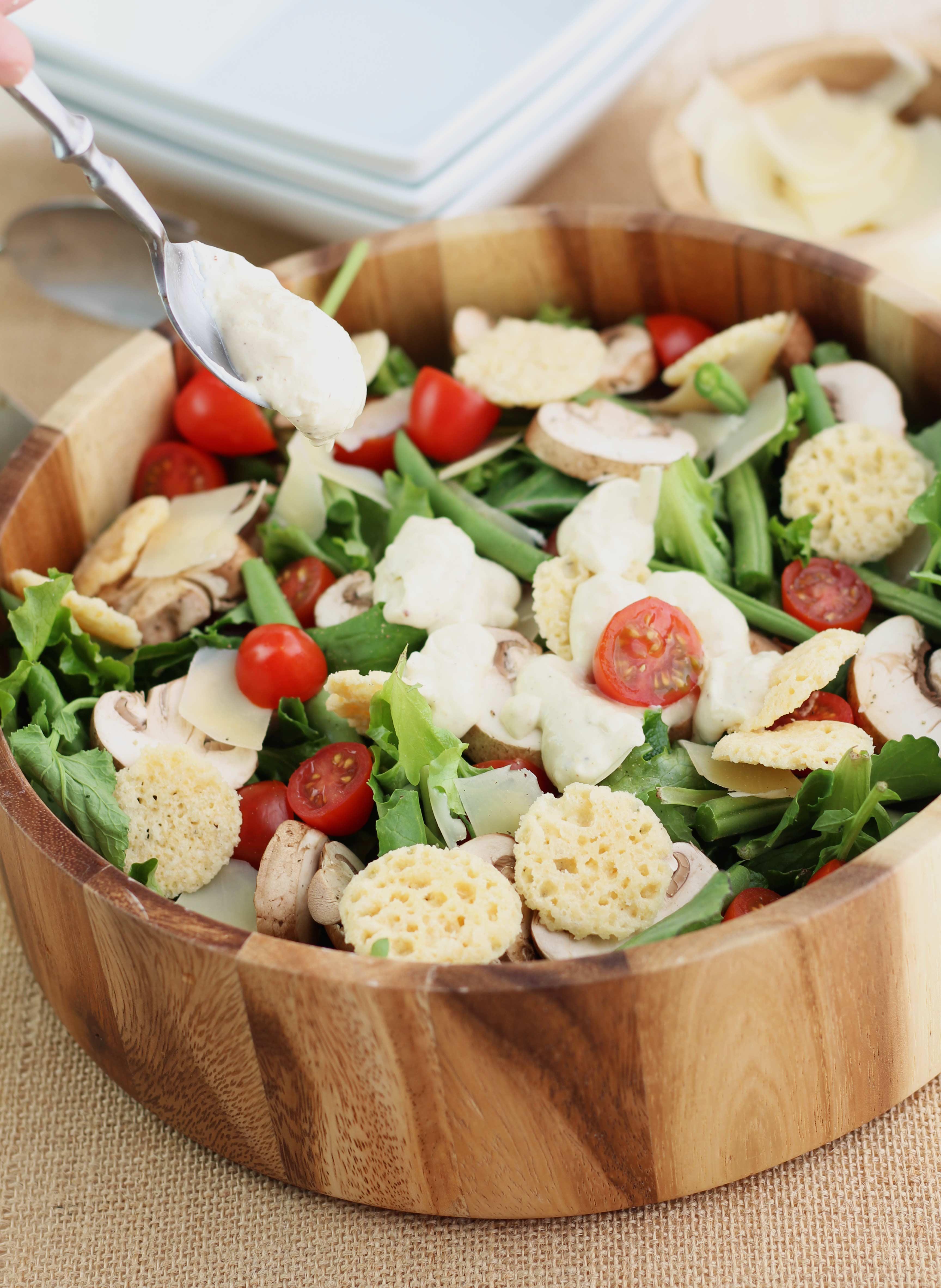 Skinny Kale Caesar Salad | 3 Yummy Tummies