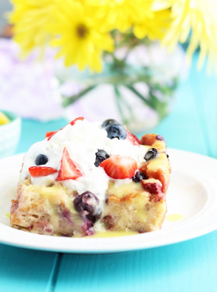 Blueberry Yum Yum Cake