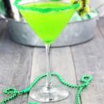 Shamrock Midori Martini