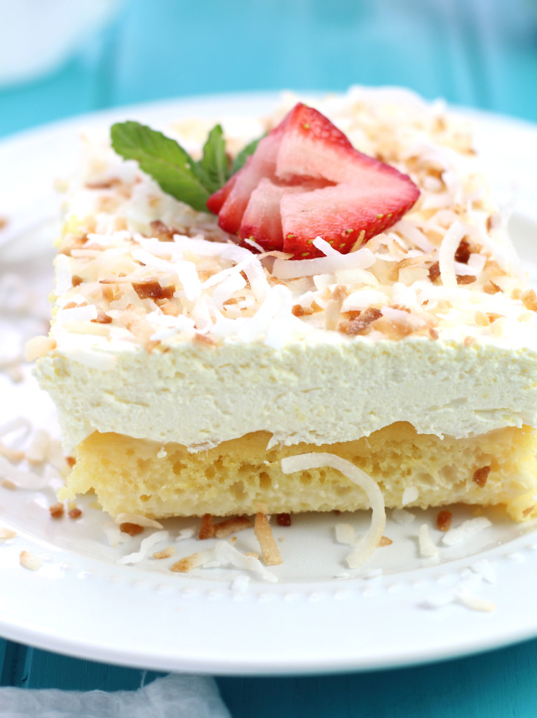 Easy Pina Colada Poke Cake Recipe