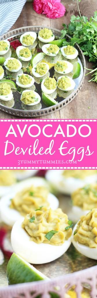 Avocado Deviled Eggs C
