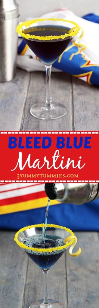 Bleed Blue Martini C