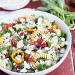 Sun-Dried Tomato and Kale Pasta Salad