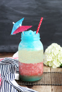 Red White and Blue Pina Colada