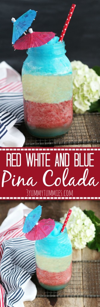 Red White and Blue Pina Colada pic