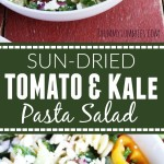 Sun-Dried Tomato and Kale Pasta Salad