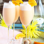 Pinepaple Orange Creamsicle Mimosas
