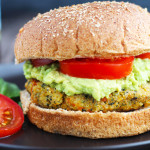 Quinoa Veggie Burgers with Avocado