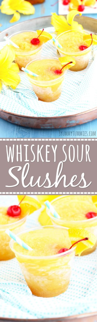 Whiskey Sour Slushes-