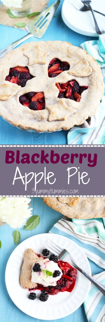 This Blackberry Apple Pie is the most amazing combination ever!