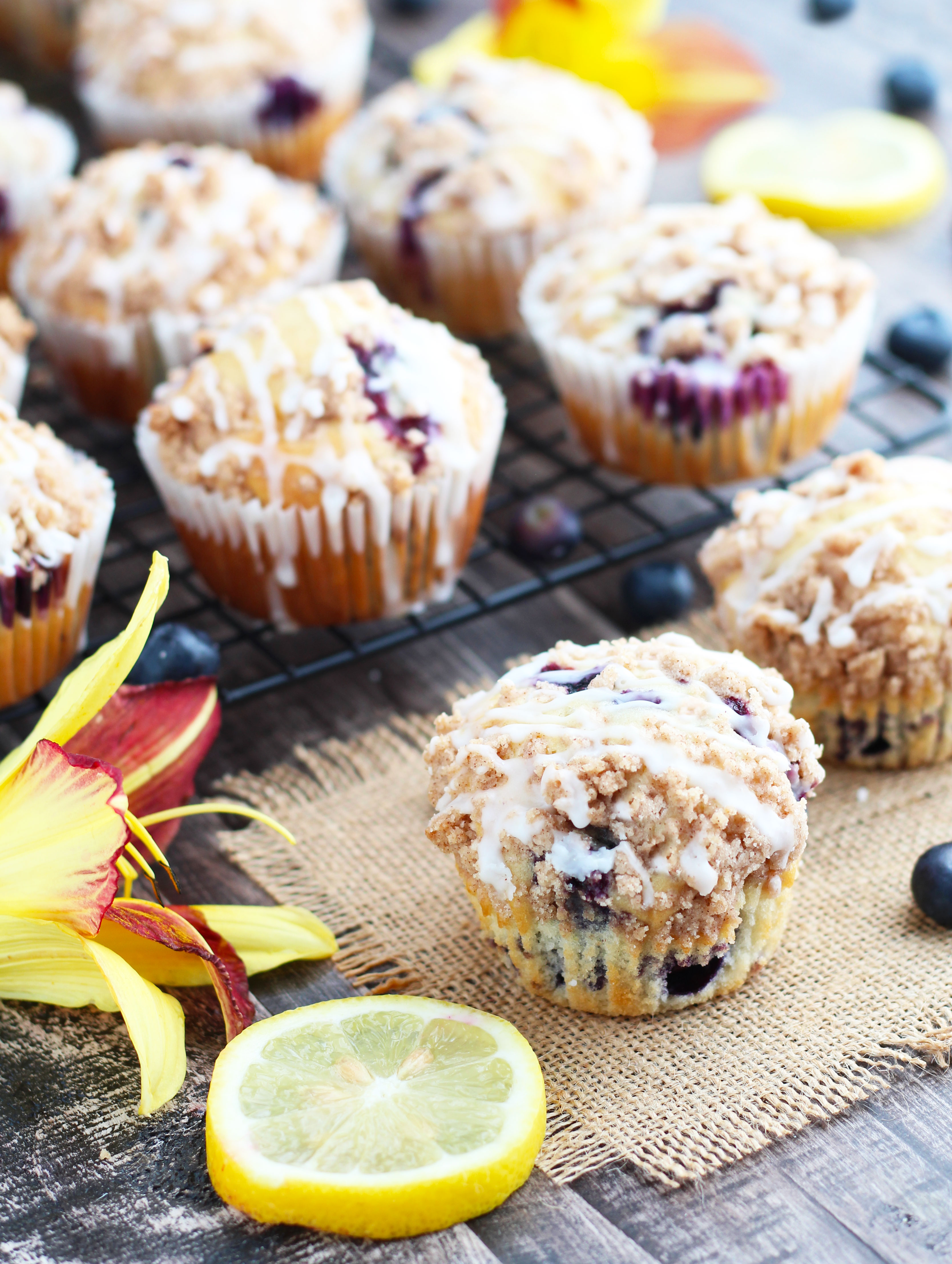 Blueberry-Lemon-Muffins-with-Crumb-Topping