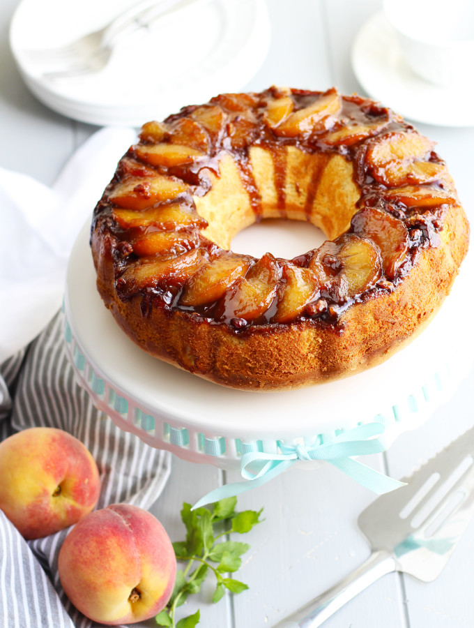 Amaretto-Peach-Upside-Down-Bundt-Cakef