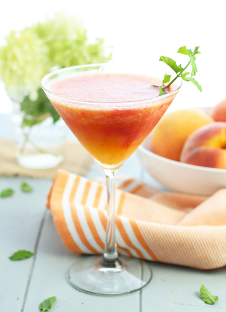 Georgia Peach Martini