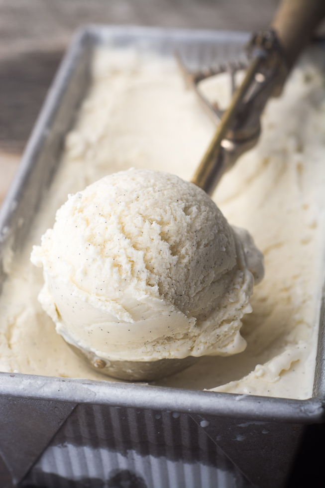 No-Churn Vanilla Bean Ice Cream Via The View From The Great Island