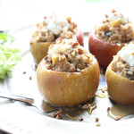 Baked Apples with Oatmeal Filling