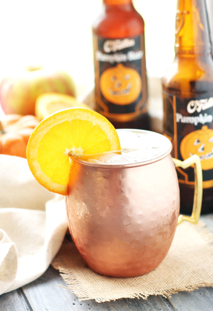 This Pumpkin Shandy isarefreshing light drink with pumpkin beer, apple cider, fresh orange juice and a splash of triple sec. You can add equal parts alcohol and fruit juice or increase either to taste. It also doesn't hurt to throw in a splash of vodka to kick things up a bit.
