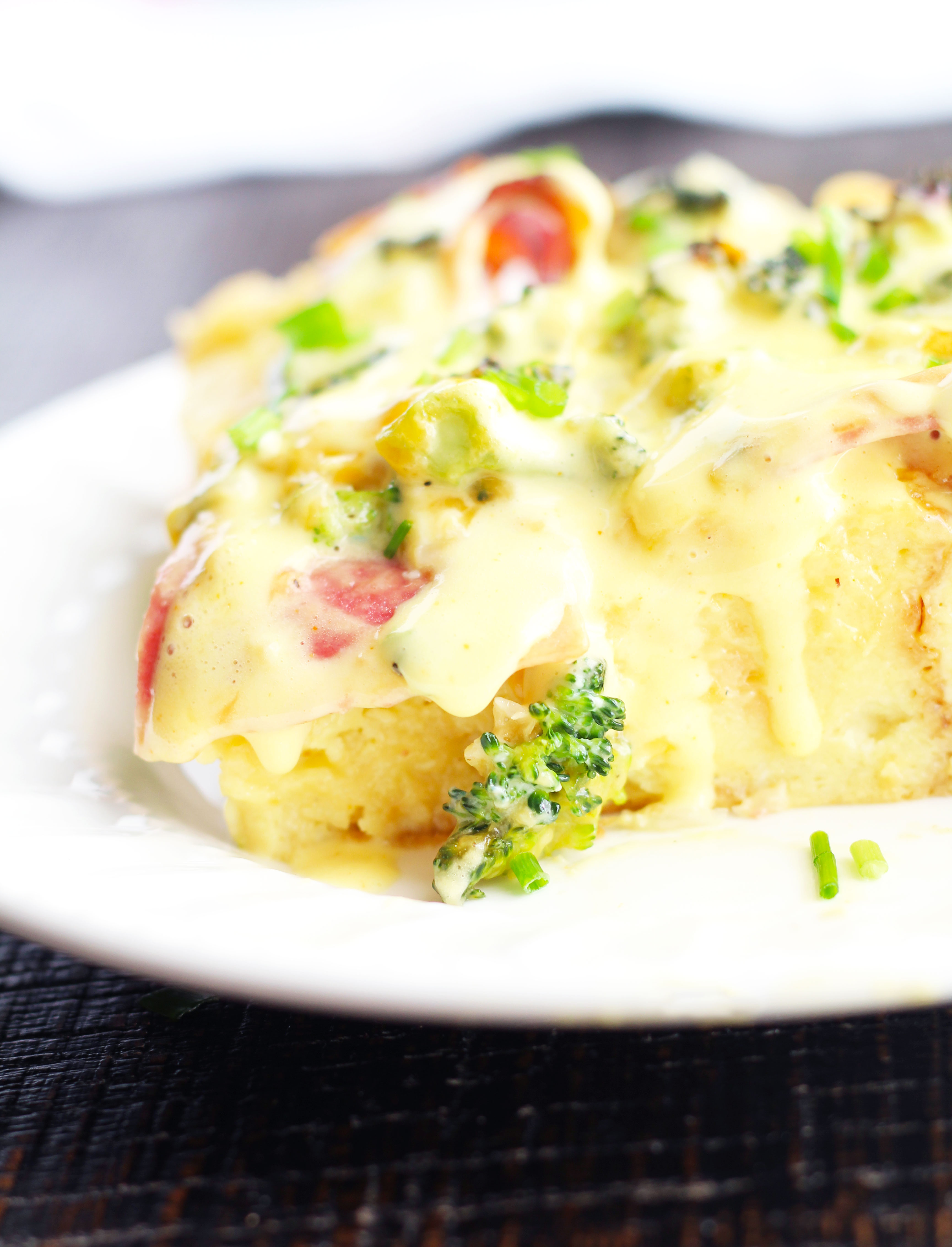 broccoli-cheddar-breakfast-stratta-with-blender-hollandaise-f1