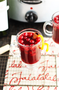 Slow Cooker Cranberry Mulled Wine