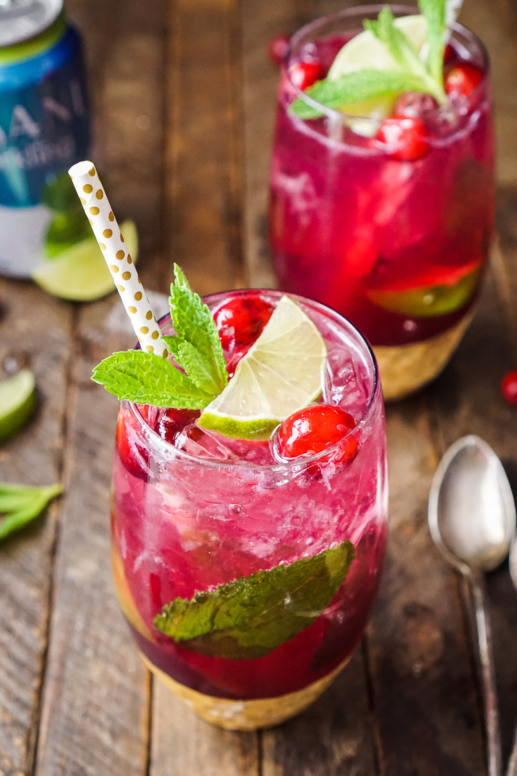 cranberry-mojito-punch