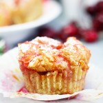 Eggnog French Toast Cups with Cranberry Syrup