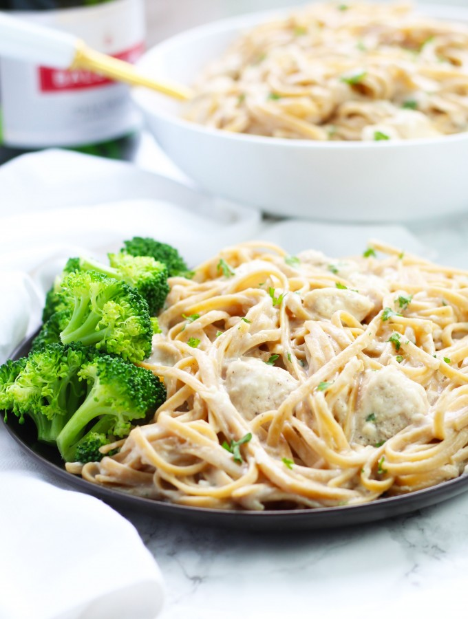 Skinny Chicken Alfredo