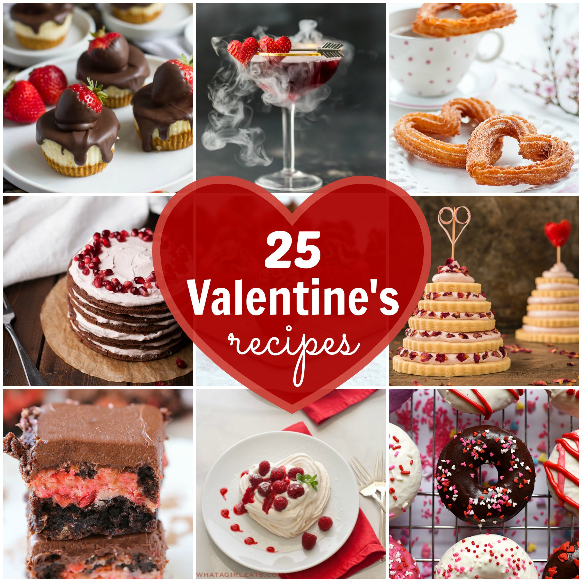 Recipes to Fall in Love With: 28 Valentine's Day Desserts ... |Valentines Day Dessert Ideas