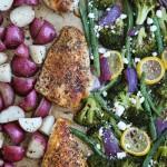 Sheet Pan Mediterranean Chicken and Vegetables
