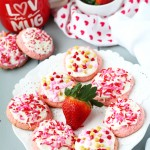 Strawberry Cream Cheese Cookies