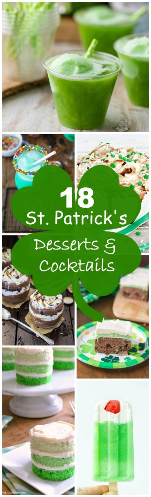 18 St. Patrick's Day Desserts and Cocktails pin