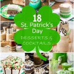 18 St. Patrick's Day Desserts and Cocktails