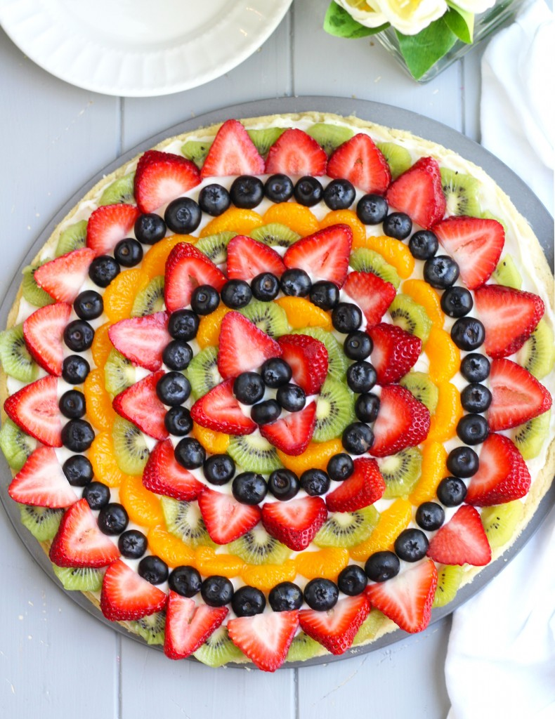 Easy Fruit Pizza