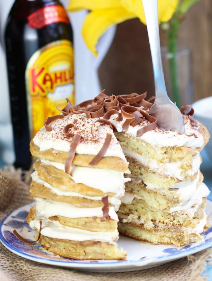 Tiramisu-Pancakes